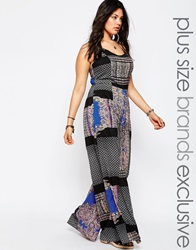 Alice And You Printed Wide Leg Cami Jumpsuit Multi