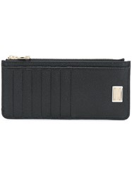 Dolce And Gabbana Zipped Wallet Black