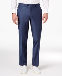 Bar Iii Men's Slim Fit Stretch Wrinkle Resistant Dress Pants Only At Macy's Blue