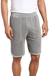 Todd Snyder X Champion Piped Terry Shorts Grey