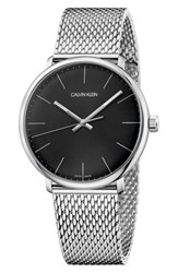 Calvin Klein High Noon Mesh Strap Watch 40Mm