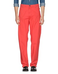 Marco Pescarolo Casual Pants Red