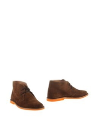 Cantarelli Ankle Boots Brown