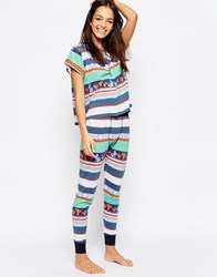 Minkpink Mink Pink Dreamstate Pyjama Leggings Multicoloured