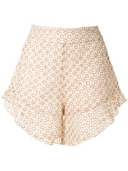 Olympiah Orchid Patterned Shorts 60