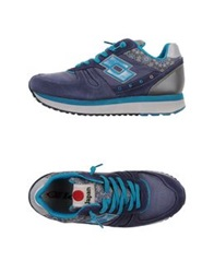 Lotto Leggenda Low Tops And Trainers Blue