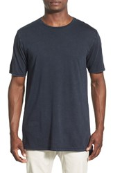 Zanerobe Men's 'Flintlock' Two Tone T Shirt Navy Acid