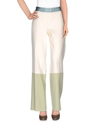 Escada Sport Trousers Casual Trousers Women Beige