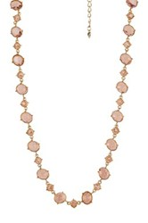 Carolee Stone Necklace Yellow