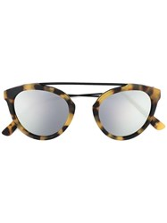 Westward Leaning Flower 1 Sunglasses Brown