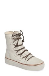 Blackstone Women's Ol26 Genuine Shearling Lined Lace Up Bootie Wind Chime Nubuck