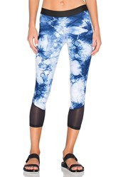 Blue Life Tie Dye Legging Blue