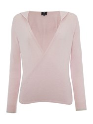Pepper And Mayne The Royal Ballet Cashmere Hooded Wrap Pink