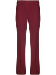 Giamba Cropped Trousers Red
