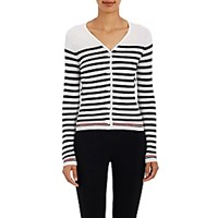 Thom Browne Women's Wool Corrugated Knit Cardigan No Color