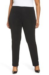 Ming Wang Plus Size Pull On Pants Black