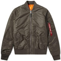 Alpha Industries Classic Ma 1 Jacket Green