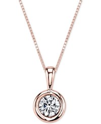 Sirena Energy Diamond Pendant Necklace 1 5 Ct. T.W. In 14K Gold White Gold Or Rose Gold