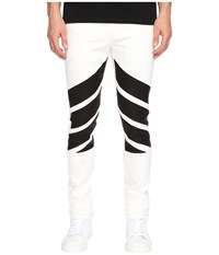 God's Masterful Children Vincitore Jeans White Black