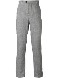 Brunello Cucinelli High Waist Trousers Grey