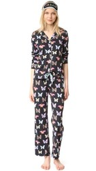 Pj Salvage Butterfly Set Black
