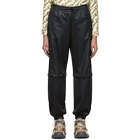 Gucci Black Convertible Cargo Lounge Pants 1000 Black