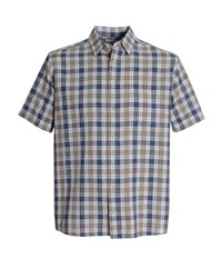 Bar Harbour By Double Two Casual Shirt Brown