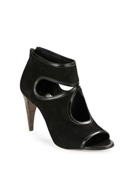Elie Tahari Isadora Cutout Pumps Black