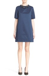 Women's Max Mara 'Labile' Dress With Removable Embellished Collar