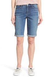 Women's Nydj 'Briella' Roll Cuff Stretch Denim Shorts Heyburn