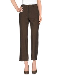 Sultan Trousers Casual Trousers Women Dark Brown