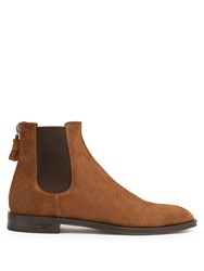 Givenchy Suede Chelsea Boots Brown Multi