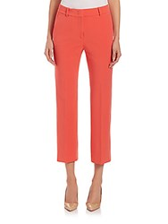 Peserico Four Way Stretch Cotton Pants Coral