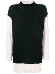 Dorothee Schumacher Colour Block Jumper Black