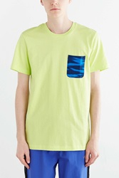 Adidas Originals Sky Crew Neck Pocket Tee Yellow