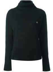Vivienne Westwood Red Label Turtle Neck Jumper Black