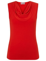 Phase Eight Carrie Plain Sleeveless Top Red