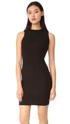 Getting Back To Square One Sleeveless Sweater Dress Black
