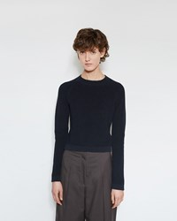 Christophe Lemaire Fitted Sweater Midnight Blue