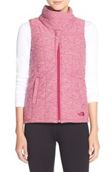 The North Face Women's 'Pseudio' Quilted Vest Dramatic Plum Heather