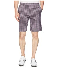Callaway Plaid Shorts Asphalt Black