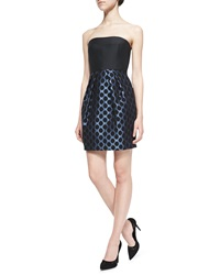 4.Collective Dotted Skirt Metallic Party Dress