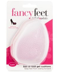 Foot Petals Fancy Feet By Ball Of Gel Cushions Shoe Inserts 3 Pairs Women's Shoes Clear