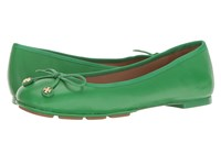 Tory Burch Laila Driver Ballet Court Green Women's Shoes