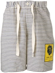 J.W.Anderson Jw Anderson Gilbert And George Patch Shorts Black