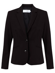 John Lewis Taylor Two Button Ponte Jacket Black