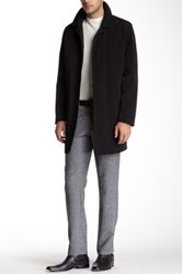 Kenneth Cole Rally Rain Top Coat Black