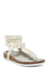 Australia Luxe Collective Chica Genuine Shearling Lined Sandal White