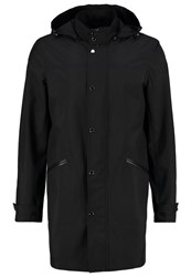 Karl Lagerfeld Short Coat Black