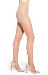 Nordstrom Plus Size Women's Control Top Pantyhose Medium Nude